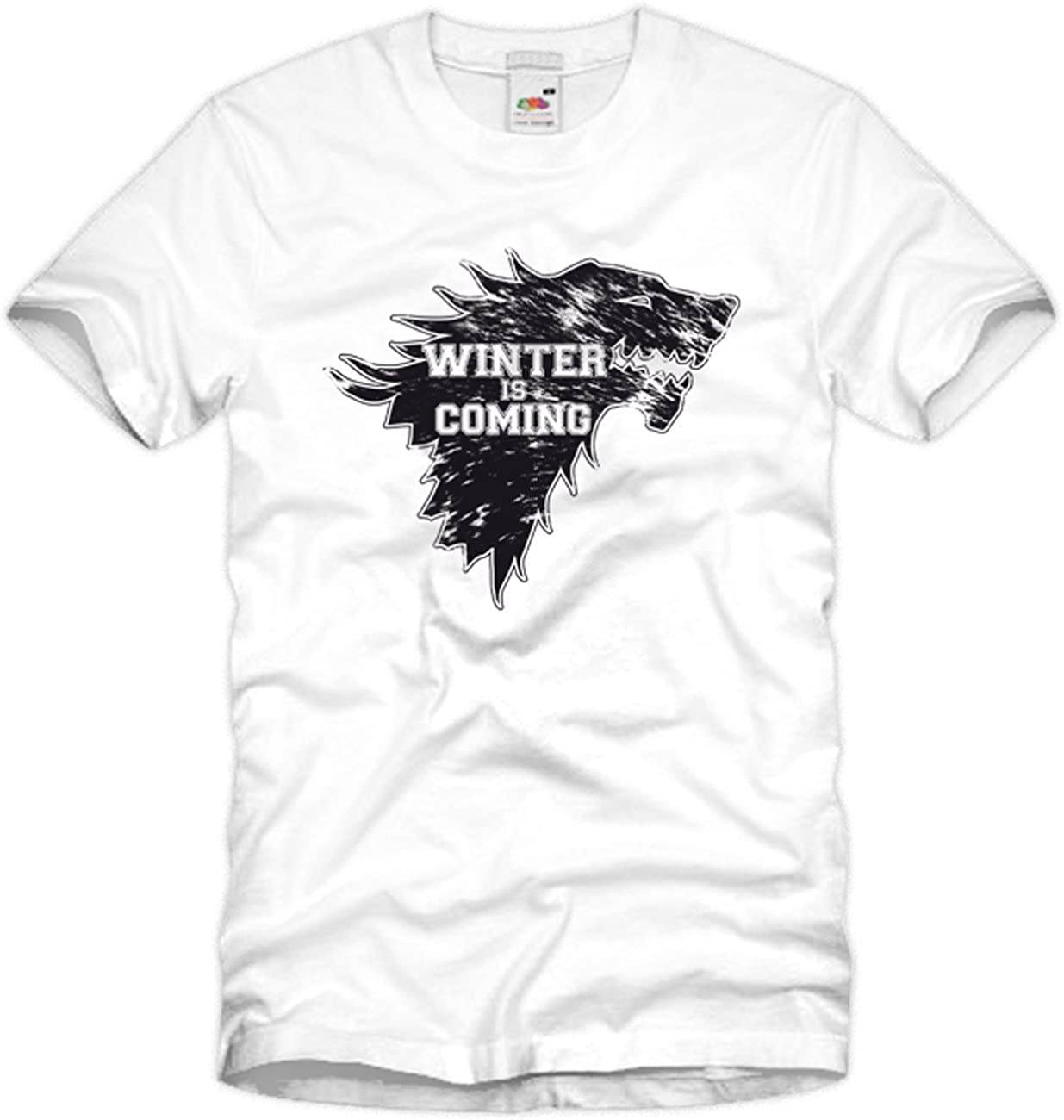 style3 Winter is Coming Homme T-Shirt Game Stark of Winterfell Thrones ned Winter