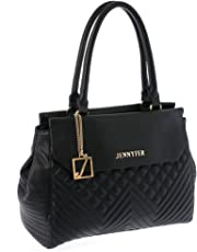 Jennyfer Bolsa Bolso Para Dama Color Negro 8225-1