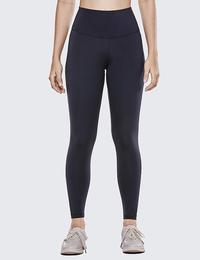 CRZ YOGA Womens Hugged Feeling High Waist Yoga Leggings Squat Proof Workout Tights