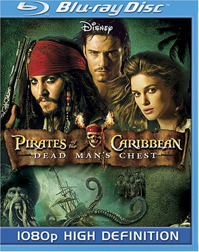 Pirates of the Caribbean Dead Mans Chest (Subtitled, Dubbed, Dolby, AC-3, Widescreen)