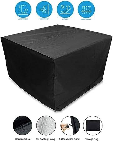 ALGWXQ Cubiertas for Muebles De Patio Resistencia A Baja Temperatura Tela Oxford Maquina Grande Estuche Protector Muebles Jardín, 16 Tamaños (Size : 70x70x85cm): Amazon.es: Hogar