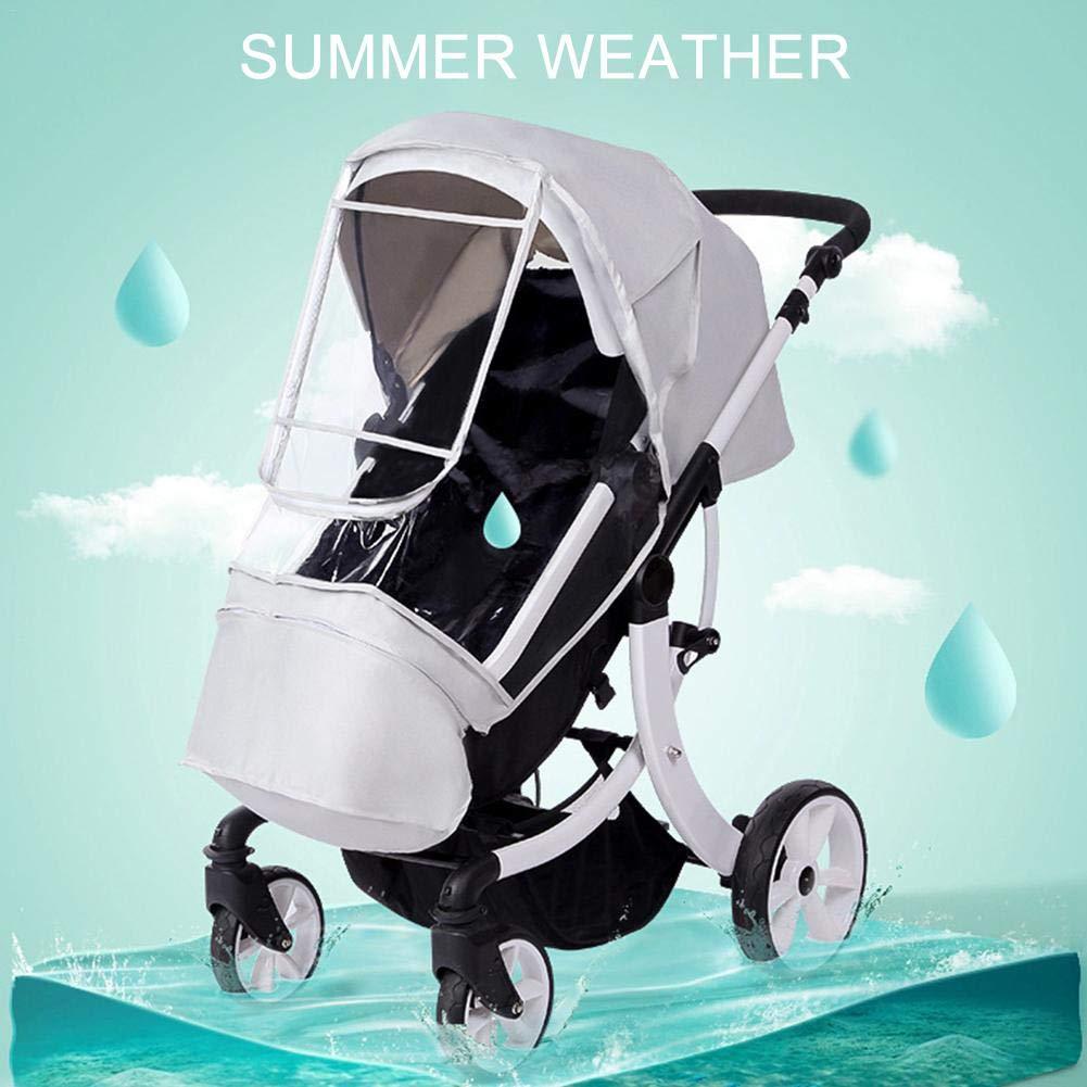 f/ür Reisen Oddity Regenschutz f/ür Kinderwagen Regen Wetterschutz Universal-Regenschutz Windschutz