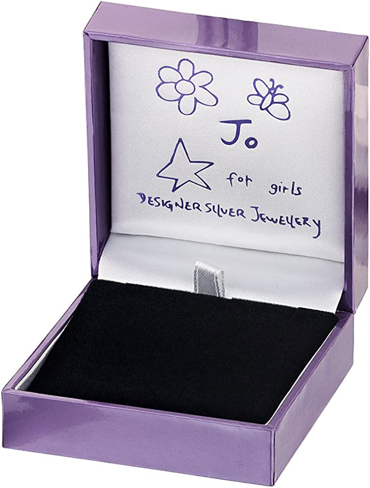 Jo for Girls Sterling Silver 21 Number Pendant on 40.5cm silver chain