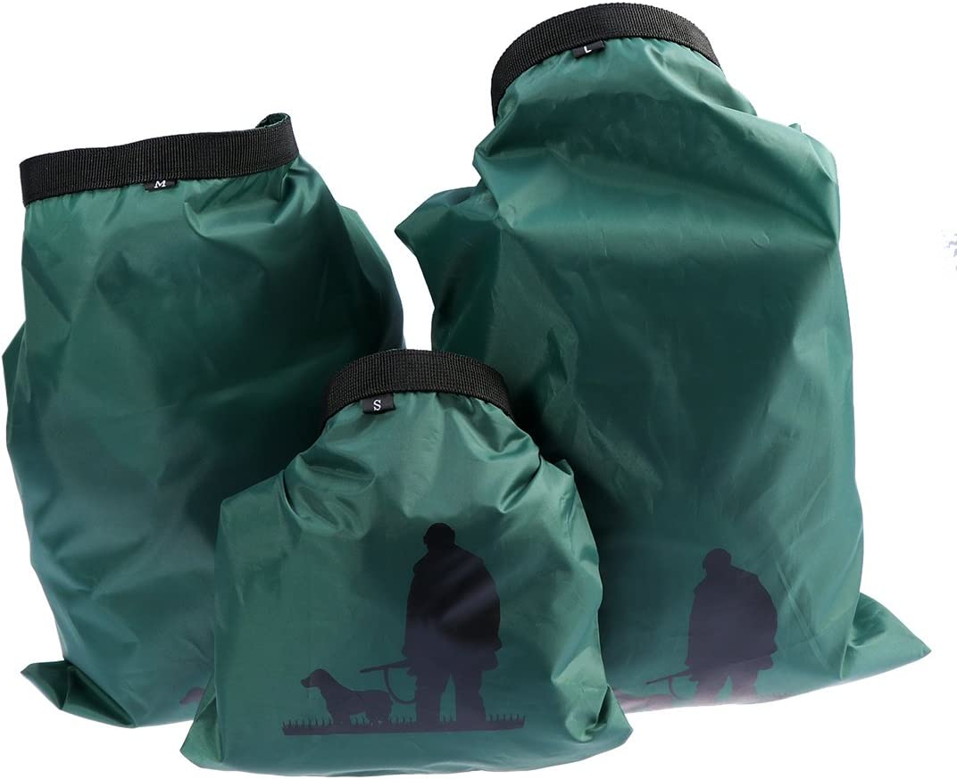 5x 3pcs Set Waterproof Dry Bags Sack Pouch Boating Swimming Rafting Camping