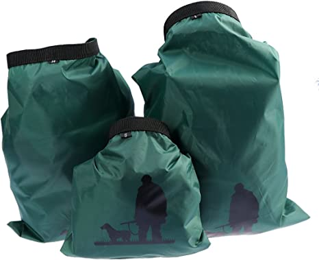 5 Sizes Set Waterproof Dry Bag Sack Storage Pack Camping Rafting Green