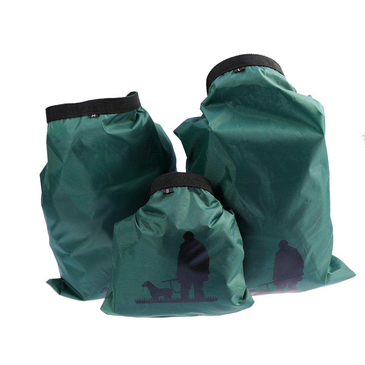 3pcs Hike Camp Kayak Travel Water Proof Dry Pack Sack Rafting Drifting Dry Bags