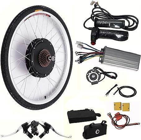 "LianDu 26// 28/""/36V// 48V 250W// 1000W/Front Wheel Electric Bike Motor Conversion Kit Front E-Bike Wheel Hub E-Bike Cycling Hub Front Wheel E-bike Motor Kit"