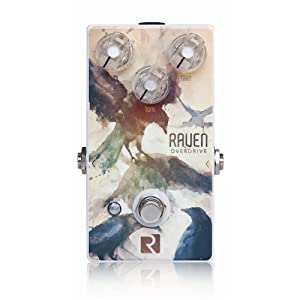 Rock Stock Pedals Raven Overdrive V2