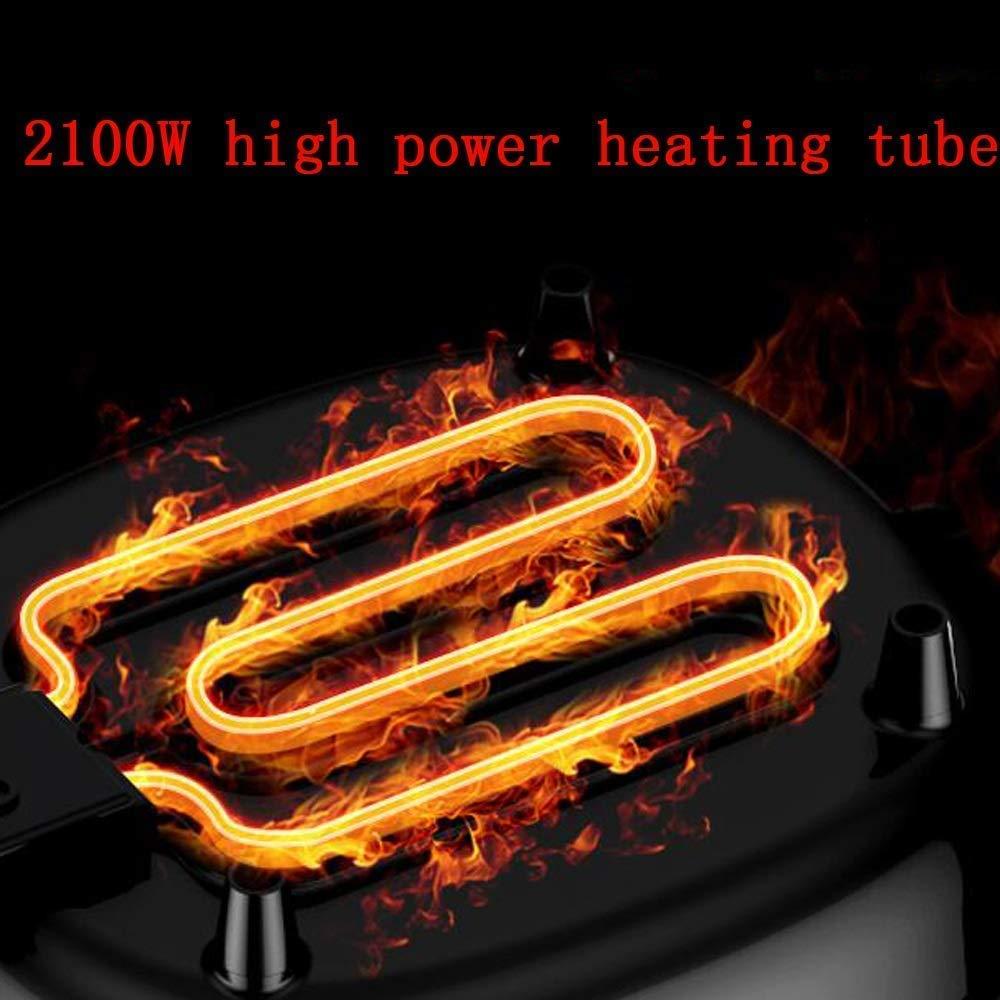 Sartenes Fondue Hot Pot, la bandeja eléctrica moderna shabu-shabu ...