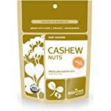 Navitas Organics Cashews, 1 Pound Pouch (Pack of 2)