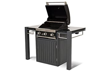 Schrank Für Gasgrill : Hartman master chef gasgrill mit grilltisch in xerix mbar