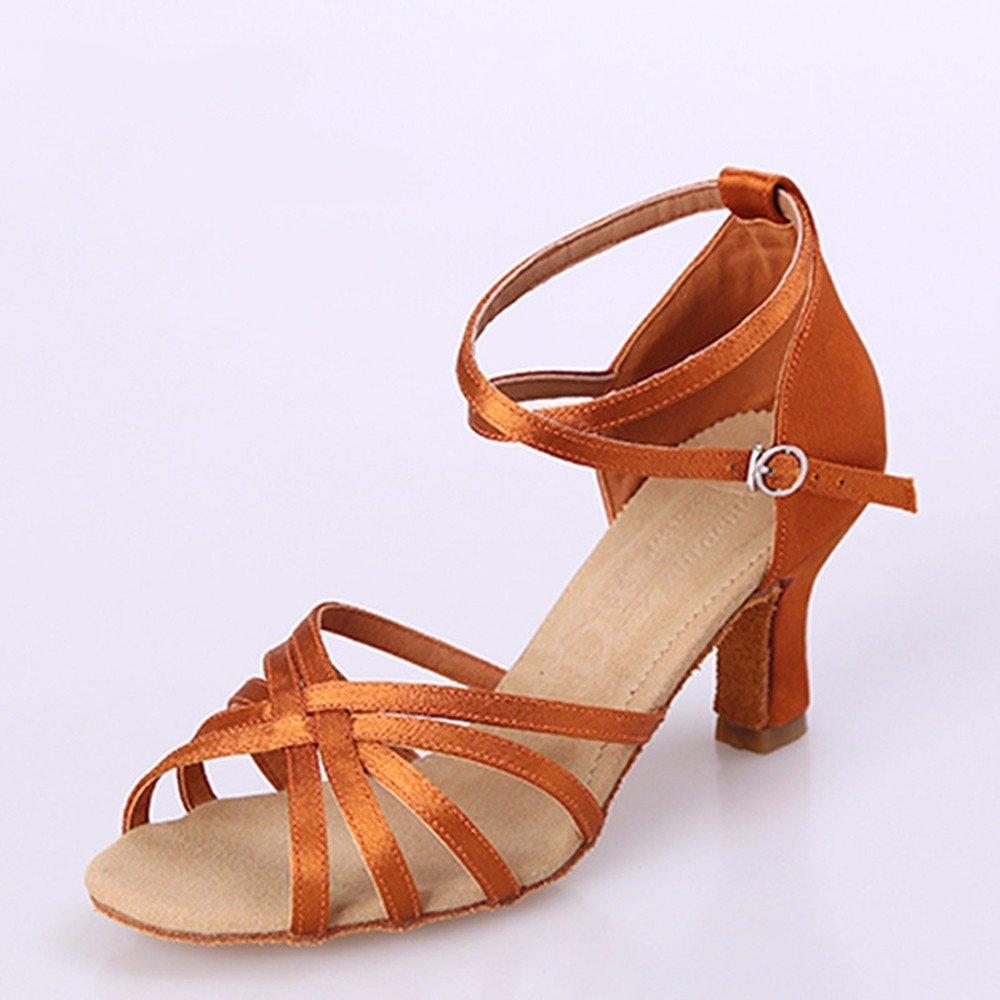 Noir Masocking@ Femme Chaussures de Danse Sandales Les praticiens sangle Chaussures US8.5 EU39 UK6.5 CN40