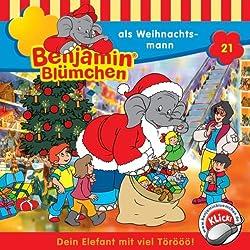 Benjamin als Weihnachtsmann (Benjamin Blümchen 21)