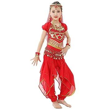 Magogo Traje de Danza del Vientre de Las niñas Traje de Carnaval ...