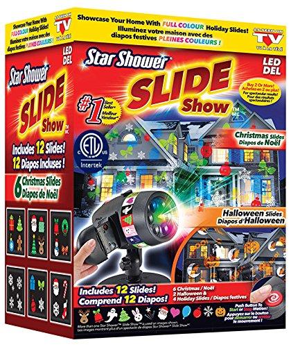 Star Shower Slideshow Indoor Outdoor Holiday Led Light Show