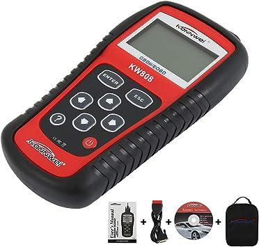 H KW808//EOBD//OBDII//OBD2 Car Fault Code Reader Vehicles Scanner Diagnostic Tester