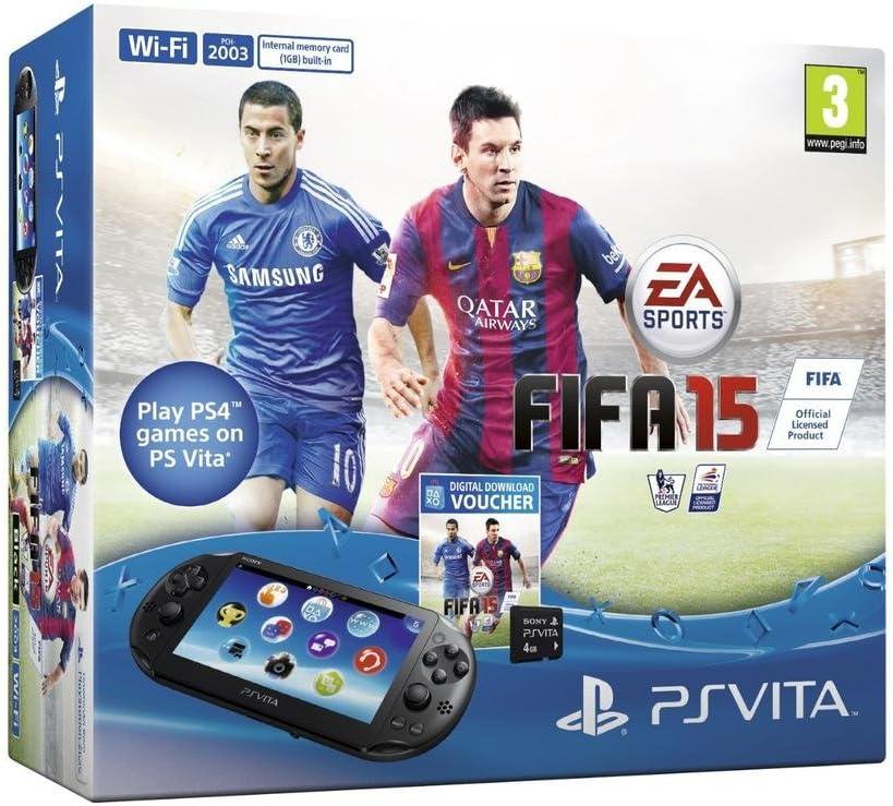 Console Playstation Vita 2016 + Fifa 15 (Ps Vita) voucher + Carte ...