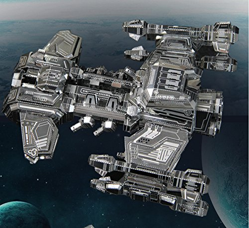 Picture Kingdom 3D Metal Puzzle -- StarCraft 2 Terran Battleship