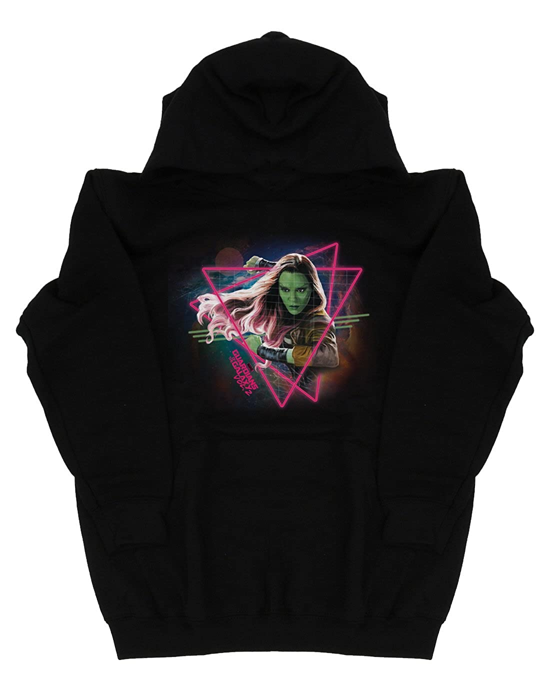 Marvel Boys Guardians of The Galaxy Neon Gamora Hoodie