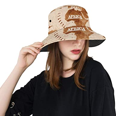 23fd56fb098 Printed Cartoon World Map Decor Icon New Summer Unisex Cotton Fashion  Fishing Sun Bucket Hats for
