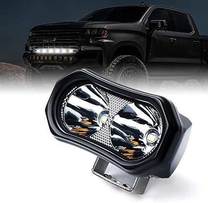 "2PC Xprite 18W 6/"" LED Driving Lights Flood Lamp for Trucks ATV Off Road Cars"