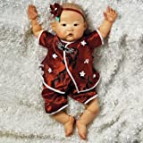 Paradise Galleries Asian Baby Doll, Baby Mei , 20 inch GentleTouch Vinyl, Weighted Body by Paradise Galleries