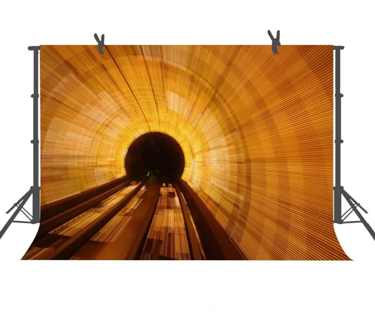 写真撮影用背景幕 9フィート x 6フィート ゴールドの背景 抽象的なチューブ付き 写真撮影用背景幕 パーティーや撮影用背景用背景幕 写真スタジオ小道具 ST960501   B07D67PPN8