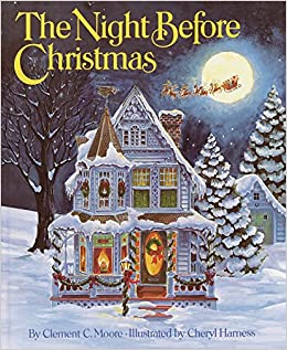 The Night Before Christmas Amazones Clement C Moore