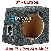 """Caja acústica universal para subwoofer de 8"""" (200mm)"""