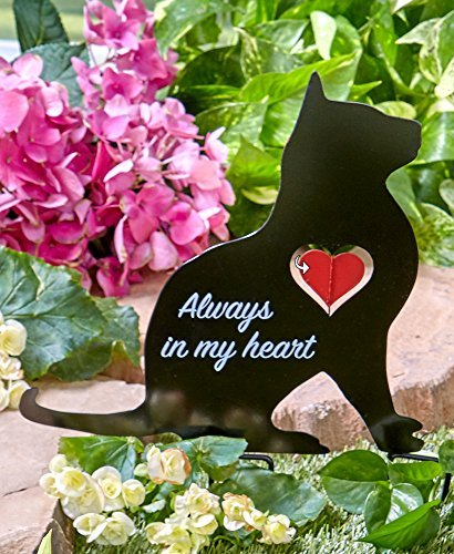 Cat Memorial (The Lakeside Collection Cat Memorial Spinner Stakes)