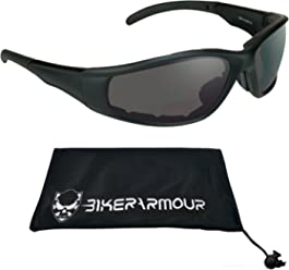 6ca39611fb0e Motorcycle Bifocal Sunglasses Padded 2.50. ANSI Z87.1 Safety Polycarbonate  Lens. Free Microfiber