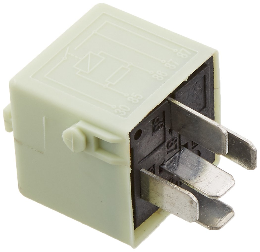 MTC 1841 / 61-36-8-373-700 Light Green Fuel Pump Relay (5-Prongs - 12V / 30A 61-36-8-373-700 MTC 1841 for BMW Models)