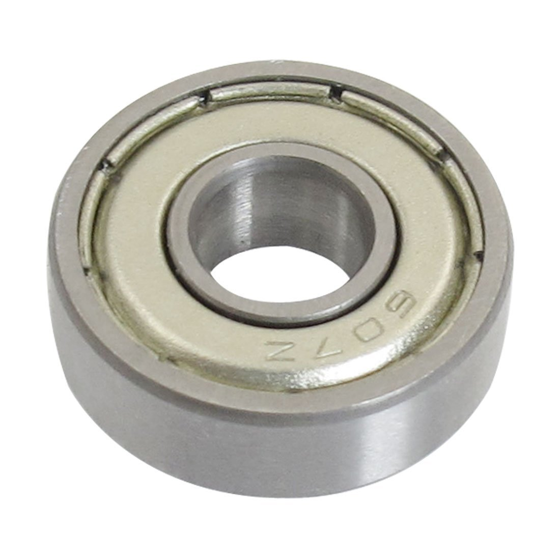 uxcell 607Z 7 x 19 x 6mm Double Shielded Deep Groove Ball Bearings 5 Pcs
