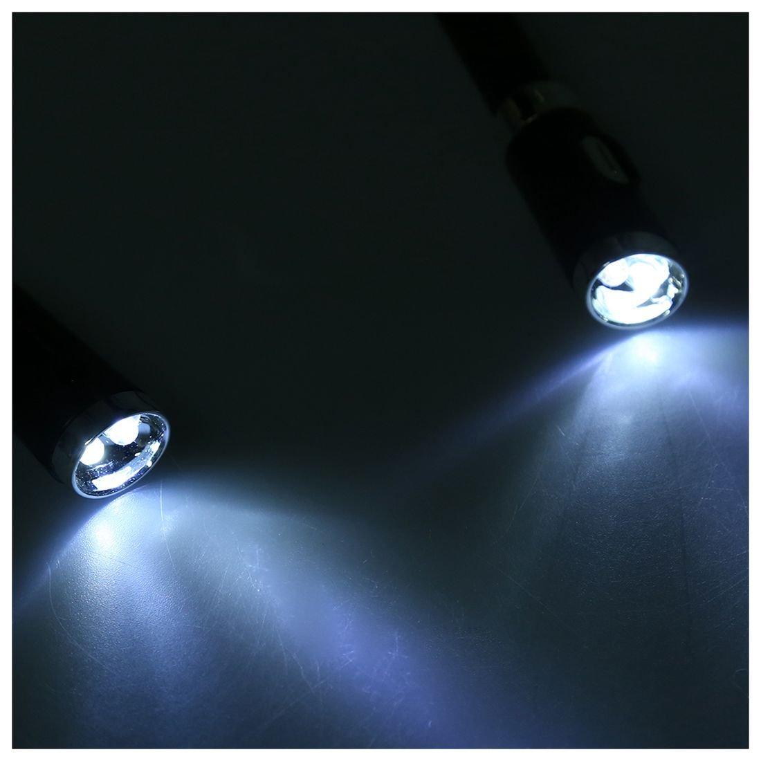Rosa 4 Modos WOVELOT LED Luz de Cuello Luz de lectura de Libro Luz Huglight