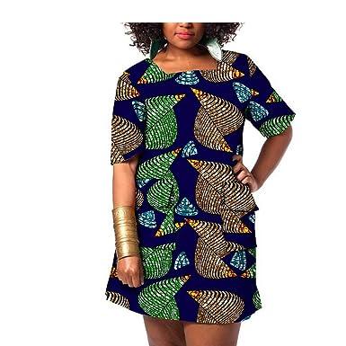 Private Customized Vestido Africano para Mujer Ankara ...