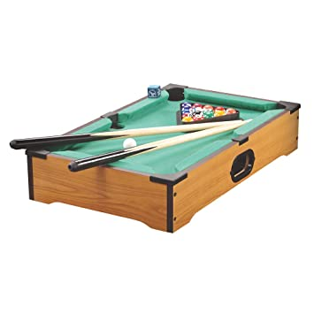 ViVo Mini Pool Table Pocket Travel And Table Top Desk Games - Travel pool table