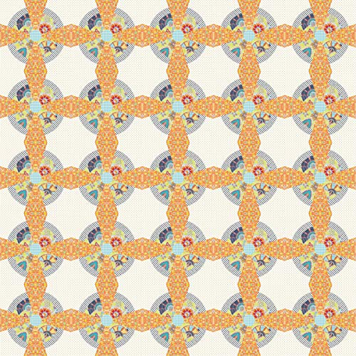 crylic Quilt Template Set – Airship Propeller Block (5 Pieces) Patchwork Sewing ()