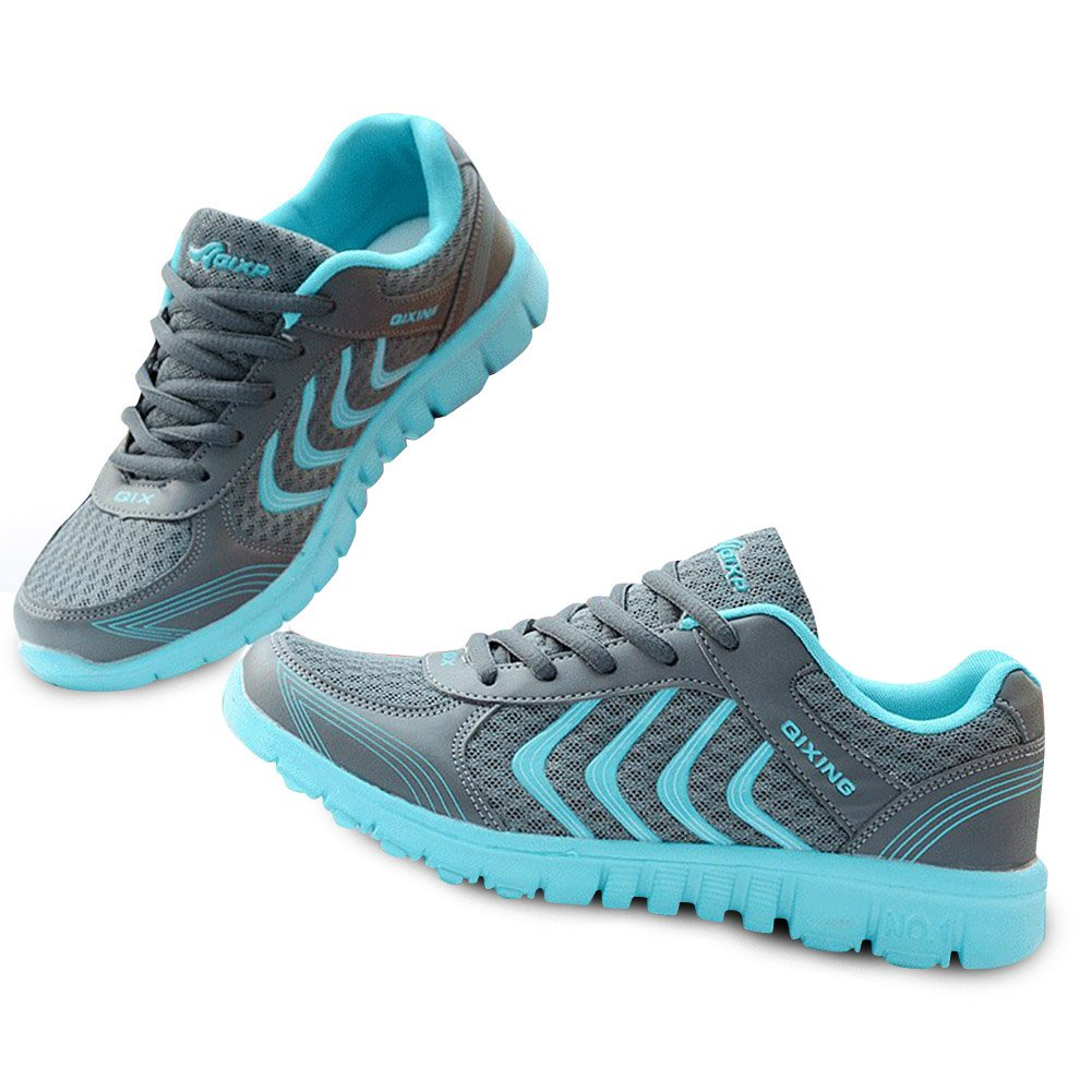 Qixing Women's Athletic Mesh Running Shoe