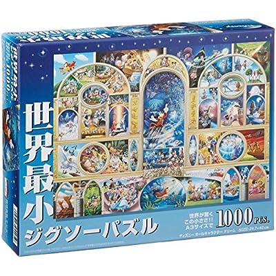 Disney Worlds Smallest 1000 Piece All Disney Character Dream Dw 1000 405 Japan Import