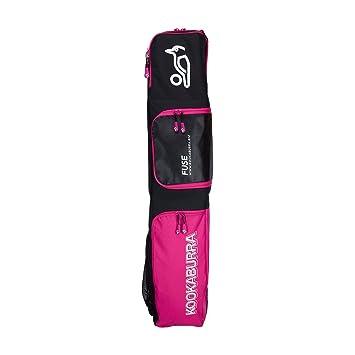 f7959acbd548 Kookaburra Fuse Hockey Stick Kit Bag (2017 18) - Black Pink  Amazon ...