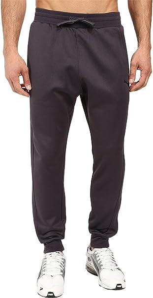 c48ff9db1aa7 PUMA Men s Fleece Pants Periscope Black Pants at Amazon Men s Clothing  store