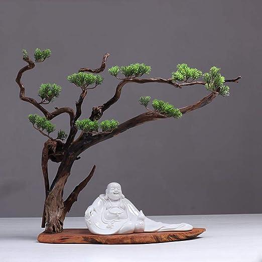 Laogg Jardin Zen Montaña Seca Agua Paisajismo Arena Fina Japonesa Zen Meditación Arte Escritorio Ornamento Mesa de Arena Micro Paisaje Feng Shui Yoga Decoració: Amazon.es: Hogar