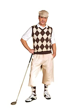 Men's 1900s Costumes: Indiana Jones, WW1 Pilot, Safari Costumes Classic Stewart Golf Knickers $65.00 AT vintagedancer.com