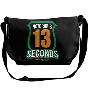 76350092139 Conor McGregor Stay Ready 1 Adjustable Shoulder Bag Crossbody Bag Messenger  Bag Black  Amazon.ca  Sports   Outdoors