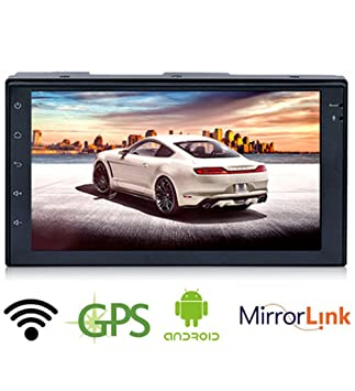 GOFORJUMP 7 Android 6.0 2-DIN Radio del Coche Navegación GPS Sat Nav