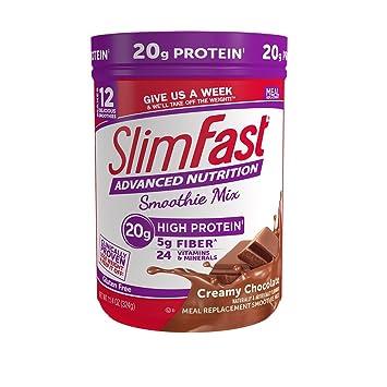 Chocolate slim fast nutrition