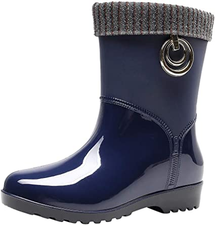 Short Ankle Boots Mid Warm Snow Bootie
