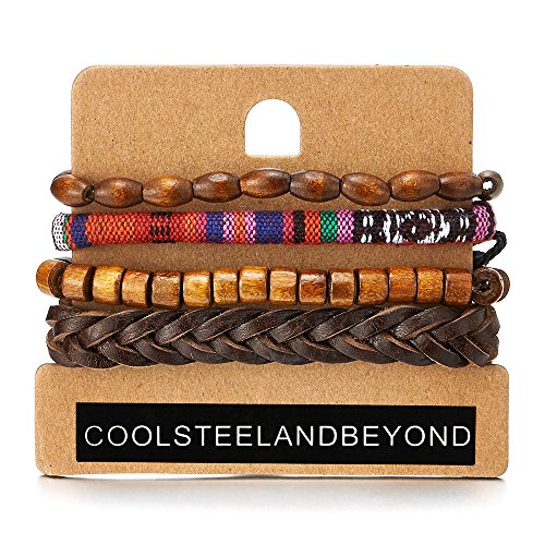 Womens Bracelets Ethnic Leather Wristbands