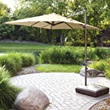 Cheap Garden Winds 2011 Square Offset Umbrella Replacement Canopy