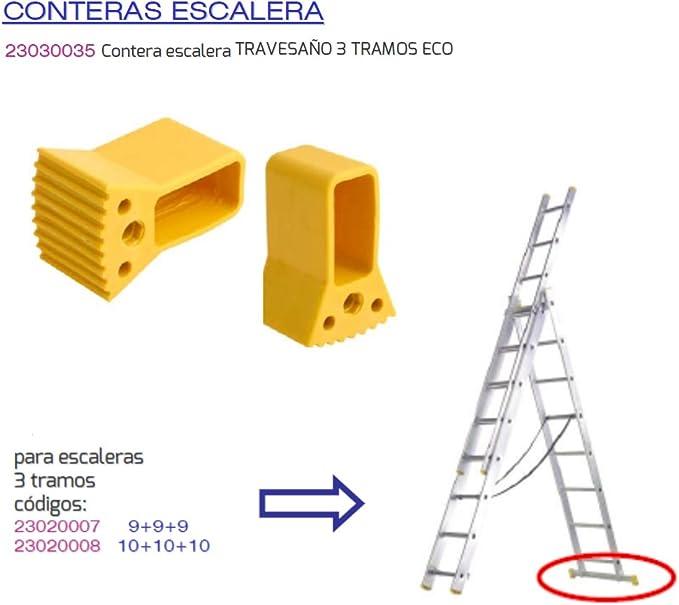 MAURER 23030035 Contera Escalera Travesaño 3 Tramos Eco: Amazon.es: Bricolaje y herramientas